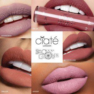 Ciate Snow Globe 5 Matte Liquid Velvet Lipsticks